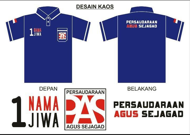 Kaos Anggota PAS