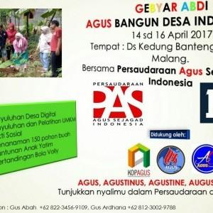 Agus Bangun Desa Indonesia Ke-3
